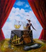 Obrazy, obraz do bytu - KAPITÁN